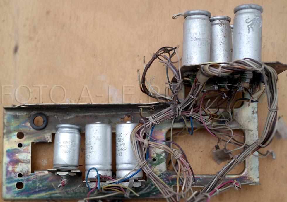 Конденсаторы электролитические К50-7, К50-12,  1983 год.