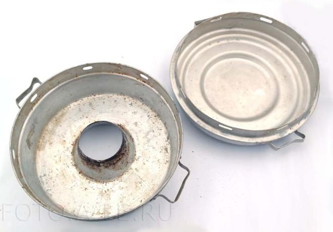"""Алюминиевая форма для пирога с отверстием.""""Чудо-печь"""" для выпечки"""
