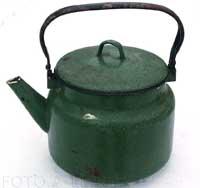 Чайники СССР 70-х Металлическая эмалированная посуда