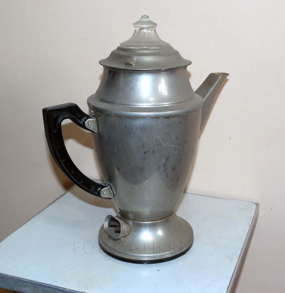 Кофеварка ТУ 488-337-72 гейзерного типа. 1973 г. 12 руб.00 коп. СССР