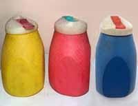 Емкости для сыпучих продуктов пластмассовые, СССР. 0-80 коп.