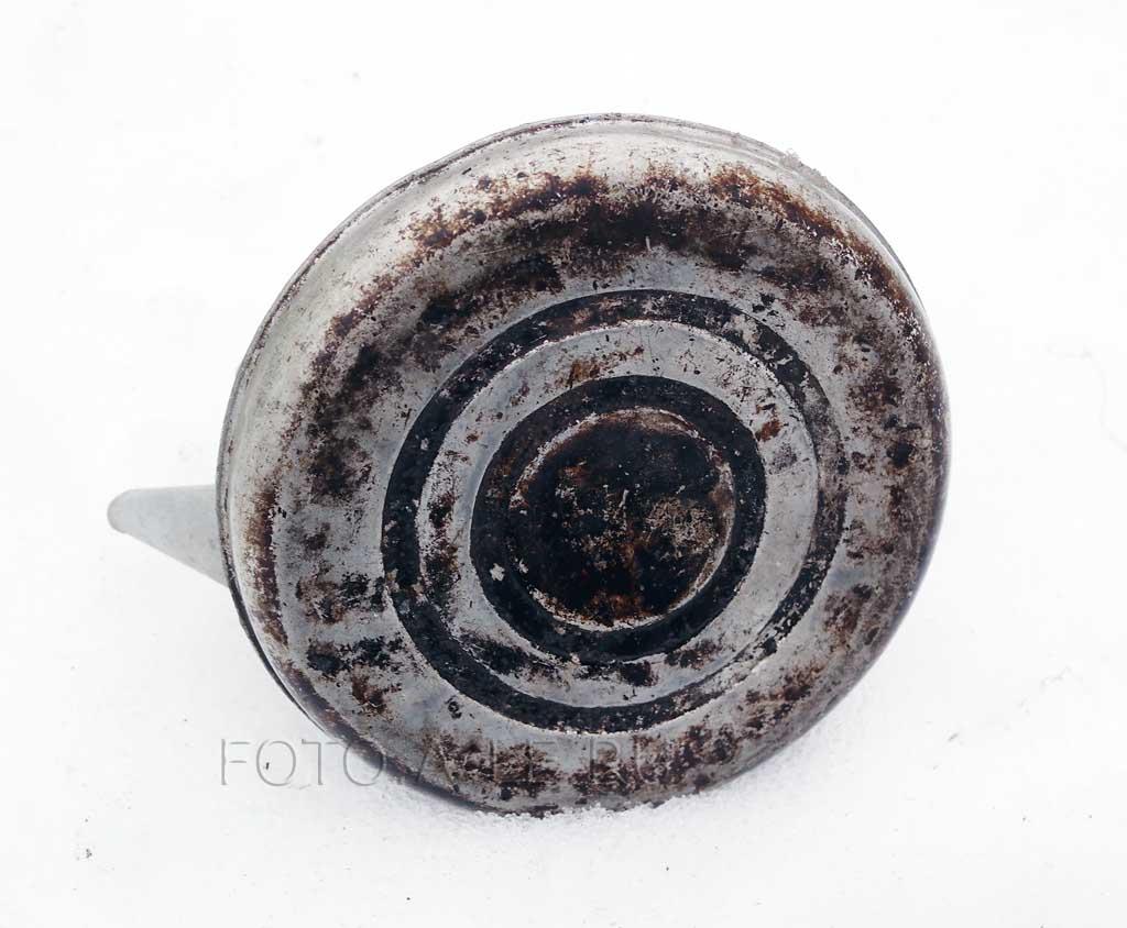 Термораспределительное дно посуды. Толстое металлическое дно. Алюминиевый чайник СССР.