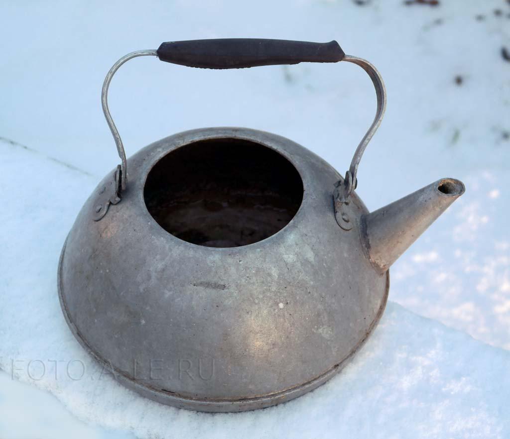 Чайник алюминиевый