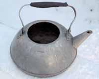 Чайник алюминиевый, сделано в СССР