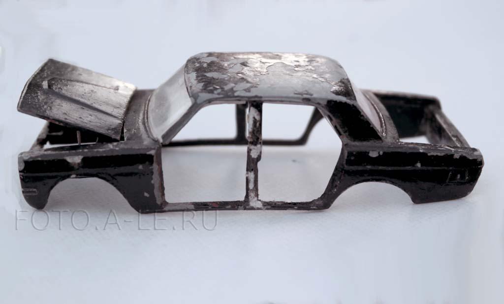 """Газ-24 """"Волга"""" , модель 1:43. Сделано в СССР"""