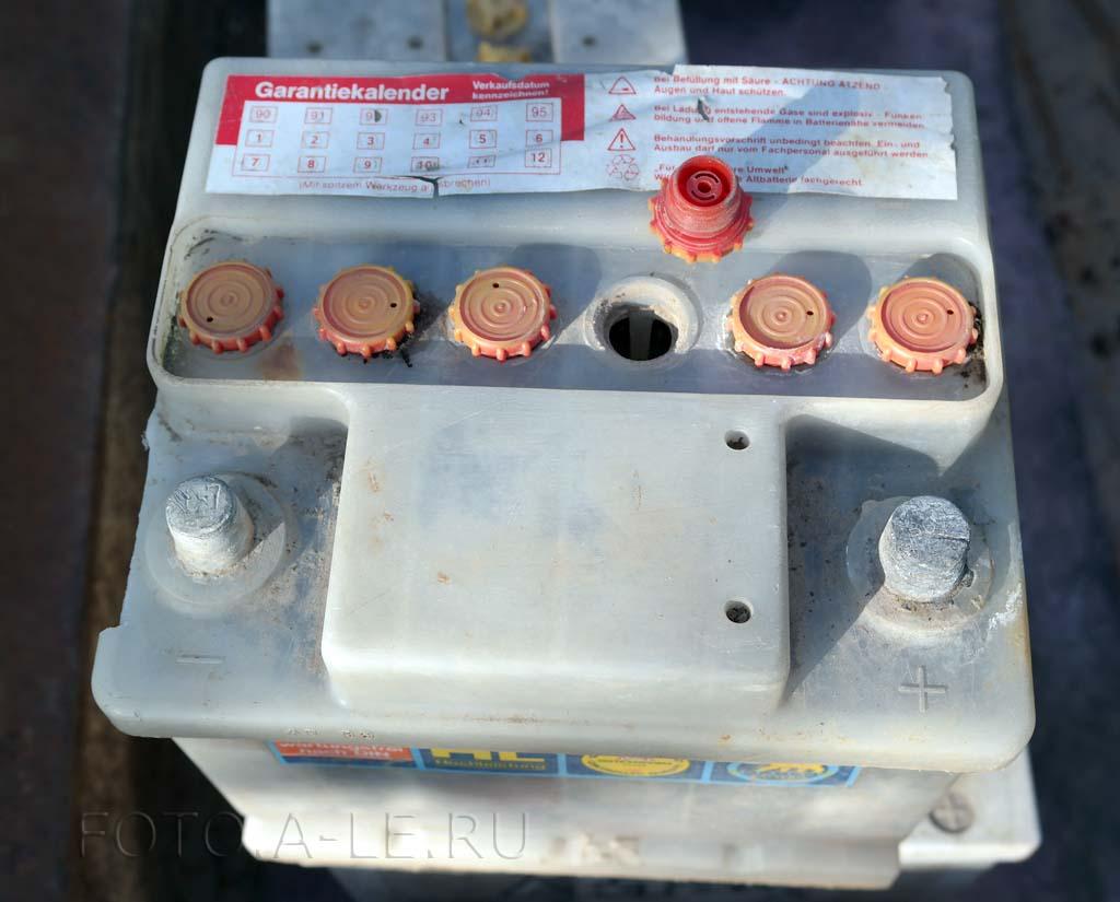 Батарея аккумуляторная BAREN для автомобиля. 1989, Austria
