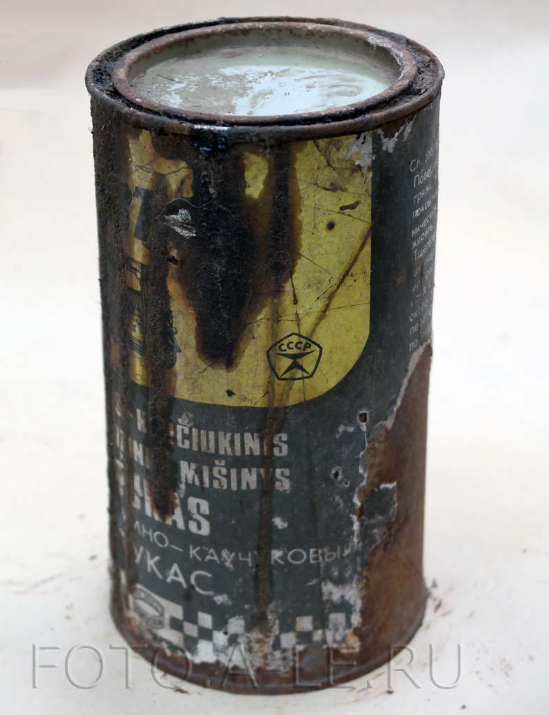 Антикор битумно-каучуковый Битукас, Bitukas Знак качества СССР