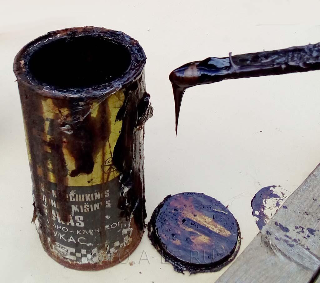 Антикор битумно-каучуковый Битукас, Bitukas СССР