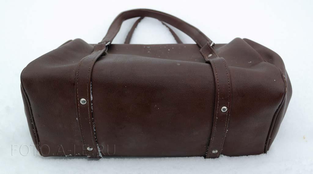 Женская сумка-саквояж СССР