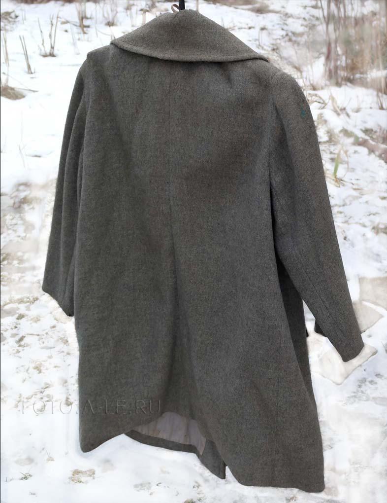 женское пальто шерсть СССР
