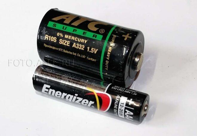 Элемент питания А332 для Ампервольтметр - испытатель транзисторов ТЛ-4М fotoale A332