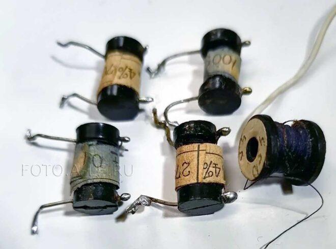 Проволочные резисторы для апмпервольтметра - испытателя транзисторов ТЛ-4М, 1977 г., 39 руб.. fotoale
