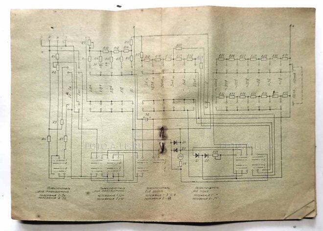 Ампервольтметр - испытатель транзисторов ТЛ-4М, 1977 г., 39 руб. инструкция, схема fotoale